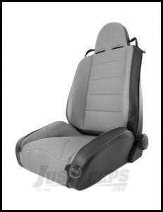 Rugged Ridge XHD Off Road Seat In Grey Cloth & Black Vinyl For 1997-06 Jeep Wrangler TJ & TJ Unlimited Models 13416.09