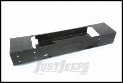 Rugged Ridge Modular XHD Front Bumper Base With Winch Mount For 2007-18 Jeep Wrangler JK 2 Door & Unlimited 4 Door Models 11540.08
