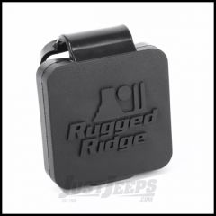 "Rugged Ridge Rear Hitch Cover With Rugged Ridge Logo 2"" Reciever  11580.26"