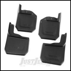 Rugged Ridge 4 Piece Splash Guard Kit For 2007-18 Jeep Wrangler JK 2 Door & Unlimited 4 Door Models 11642.10