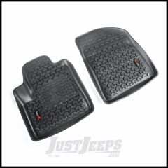 Rugged Ridge Front Floor Liners In Black For 2014-19 Jeep Cherokee KL 12920.33