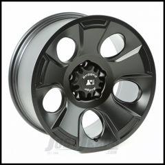 Rugged Ridge 18x9 Drakon Wheel In Black Satin For 2007-18+ Jeep Wrangler JK/JL 2 Door & Unlimited 4 Door Models 15302.02
