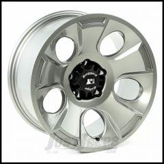 Rugged Ridge 18x9 Drakon Wheel In Gun Metal For 2007-18+ Jeep Wrangler JK/JL 2 Door & Unlimited 4 Door Models 15302.31