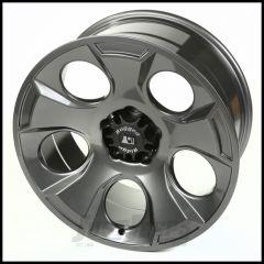 Rugged Ridge 20x9 Drakon Wheel In Gun Metal For 2007-18+ Jeep Wrangler JK/JL 2 Door & Unlimited 4 Door Models 15304.30
