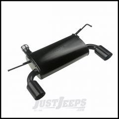 Rugged Ridge Axle Back Exhaust In Black For 2007-18 Jeep Wrangler 2 Door & Unlimited 4 Door Models 17606.77
