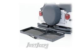 """SmittyBilt 20"""" x 60"""" Receiver Rack For 2"""" Receiver Hitches 7700"""