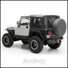 SmittyBilt (OE Style) Replacement Top Skin In Black Denim With Tinted Windows For 1997-06 Jeep Wrangler TJ Models 9971235