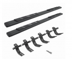 Go Rhino 5in OE Xtreme Low Profile Side Step Kit - Black for 21+ Ford Bronco 4 Door 685412971T