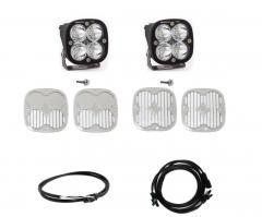 Baja Designs Squadron Pro Series A-Pillar Light Kit w/ Upfitter for 21+ Ford Bronco 2 & 4 Door 447754UP