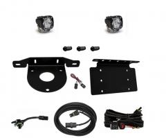Baja Designs Dual S1 Series W/C Reverse Kit w/ License Plate Mount for 21+ Ford Bronco 2 & 4 Door 447765