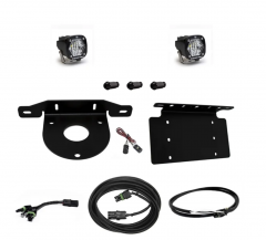 Baja Designs Dual S2 Sport W/C Reverse Kit w/ License Plate and Upfitter for 21+ Ford Bronco 2 & 4 Door 447765UP