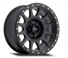 Method Race Wheels 305 NV Series Wheel,17x8.5 6x5.5 - Matte Black for 21+ Ford Bronco MR30578560525