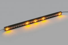 Quadratec J5 LED Light Bar with Amber Clearance Cab Lights 97109.1023