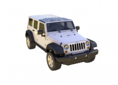 ClearlidZ Panoramic Style Top For 2007-08 Jeep Wrangler JK Models CL278