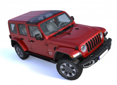 ClearlidZ Panoramic Style Top For 2018+ Jeep Gladiator JT & Wrangler JL 2 Door & Unlimited 4 Door Models CL300