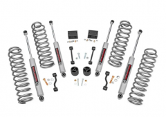 Rough Country 2.5in Suspension Lift Kit | Springs for 18+ Jeep Wrangler JLU Rubicon 66630