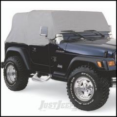 SmittyBilt Water Resist Cab Covers In Grey For 1992-06 Jeep Wrangler YJ & TJ 1161