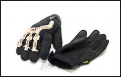 SmittyBilt Trail Gloves In Black Extra Large Size 1505
