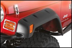 """SmittyBilt Pocket Style Fender Flare 6"""" Single Replacement Front Driver Side For 1997-06 Jeep Wrangler TJ & TLJ Unlimited Models 17190-01"""