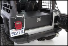 SmittyBilt Security Storage Vault In Black For 1987-06 Jeep Wrangler YJ & TJ Models 2761