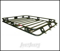 SmittyBilt Defender Series Roof Rack Basket 3.5' X 6' One Piece Welded 35604