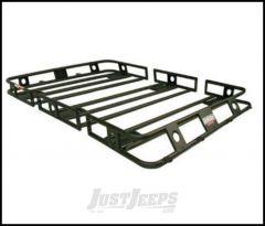 SmittyBilt Defender Series Roof Rack Basket 3.5' X 6' Multi Piece Bolt Together 35605