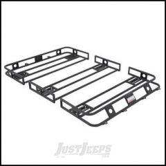SmittyBilt Defender Series Roof Rack Basket 4' X 5' Multi Piece Bolt Together 40505
