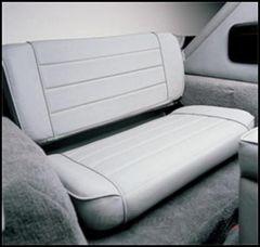 SmittyBilt Rear Seat Fold & Tumbl Style In Grey Denim For 1997-02 Jeep Wrangler TJ 41511