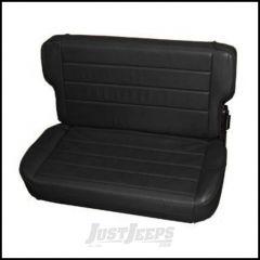 SmittyBilt Rear Seat Fold & Tumbl Style In Black Denim For 1997-02 Jeep Wrangler TJ 41515