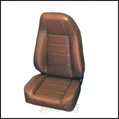 SmittyBilt Front Factory Style Reclining Seat In Spice Denim For 1976+ Jeep CJ Series, Wrangler YJ & TJ Models 45017