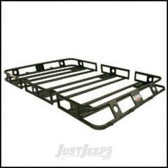 SmittyBilt Defender Series Roof Rack Basket 4.5' X 6.5' Multi Piece Bolt Together 45655