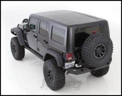 SmittyBilt 2 Piece (Textured Black) Hard Top Kit For 2007-18 Jeep Wrangler JK Unlimited 4 Door Models 518701