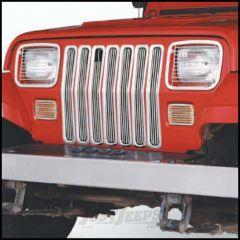 SmittyBilt Euro Head Light Covers In Black For 1987-95 Jeep Wrangler YJ 5659