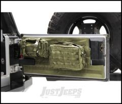 SmittyBilt GEAR Tailgate Cover In Olive Drab For 2007+ Jeep Wrangler JK & JK Unlimited Models 5662331