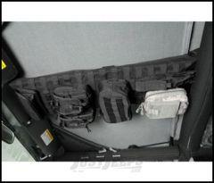 SmittyBilt GEAR Overhead Console In Black For 1997-06 Jeep Wrangler TJ & TLJ Unlimited Models 5665001