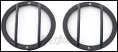 SmittyBilt Euro Side Marker Guards In Black For 2007+ Jeep Wrangler JK 2 Door & Unlimited 4 Door Models 5691