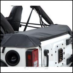 SmittyBilt Soft Top Storage Boot In Black Diamond For 2007+ Jeep Wrangler JK 2-Door 600135