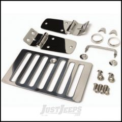 SmittyBilt Hood Kit In Stainless Steel For 1998-06 Jeep Wrangler TJ & Wrangler Unlimited 7465