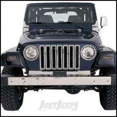 SmittyBilt Grille Insert In Chrome For 1997-06 Jeep Wrangler TJ & Wrangler Unlimited 7511