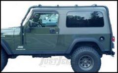 SmittyBilt SRC Roof Rack In Black Textured For 2004-06 Jeep Wrangler TLJ Unlimited Models 76715