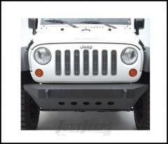 SmittyBilt SRC Classic Style Front Bumper With D-Ring Mounts In Black Textured For 2007-18 Jeep Wrangler JK 2 Door & Unlimited 4 Door Models 76741