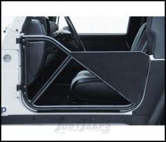 SmittyBilt SRC Tubular Doors In Black Textured For 1997-06 Jeep Wrangler TJ & Wrangler Unlimited 76793