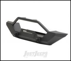 SmittyBilt XRC Front Bumper In Textured Black For 1987-95 Jeep Wrangler YJ Models 76801