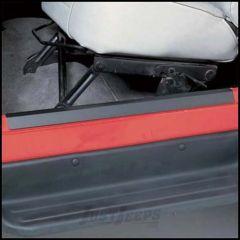 SmittyBilt Entry Guards In Black For 1997-06 Jeep Wrangler TJ & Wrangler Unlimited 7686