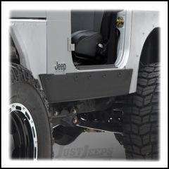 SmittyBilt XRC Rock Sliders In Black Textured For 1997-06 Jeep Wrangler TJ 76870