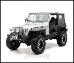 "SmittyBilt XRC Add On 3"" Flare For Armor Rear Corner Guards In Black Textured For 1987-95 Jeep Wrangler YJ 76877"