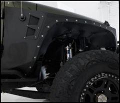 SmittyBilt XRC Armor Front Fender Kit Pair For 2007-18 Jeep Wrangler JK 2 Door & Unlimited 4 Door Models 76880