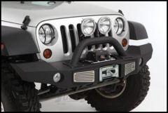 SmittyBilt XRC Front Atlas Bumper In Black Textured For 2007+ Jeep Wrangler JK 2 Door & Unlimited 4 Door Models 76892