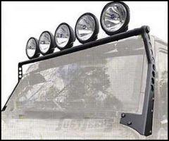 SmittyBilt XRC Light Bar In Matte Black For 1997-06 Jeep Wrangler TJ & TLJ Unlimited Models 76910