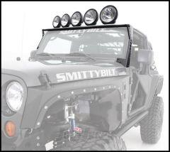 SmittyBilt XRC Light Bar In Matte Black For 2007-18 Jeep Wrangler JK & JK Unlimited Models 76911